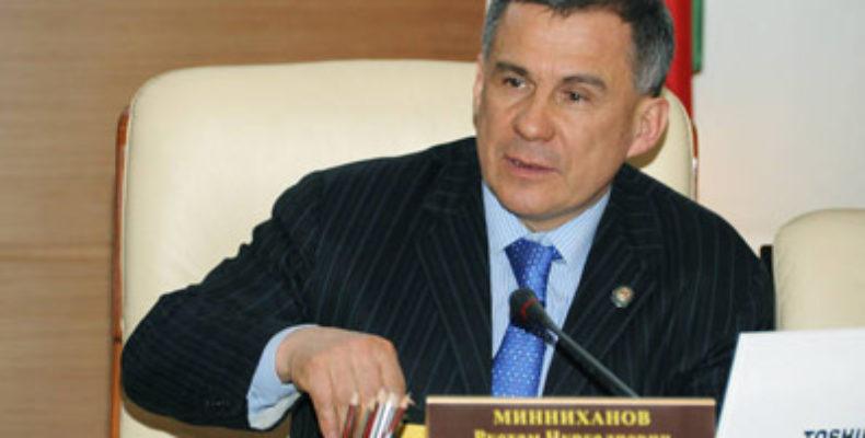 Минниханов раскритиковал главу Зеленодольска и Талгата Абдуллина за «показуху»