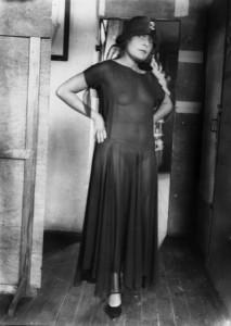 лиля брик в прозрачном платье