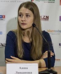 Актриса Анна Ливанова