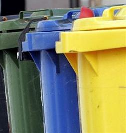 Контейнеры для мусора, вторсырье