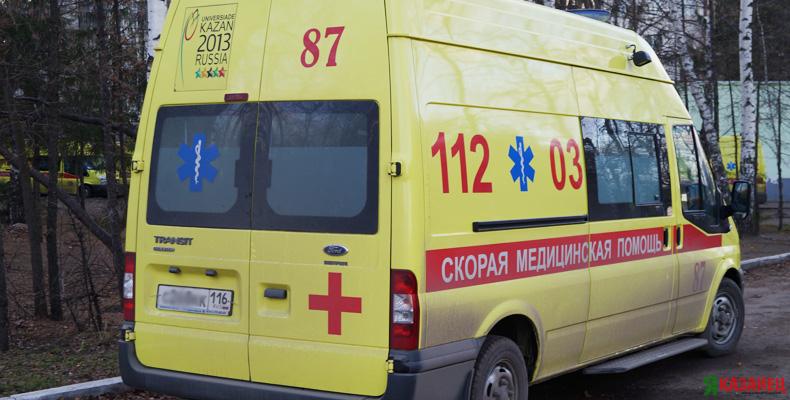 В центре Казани мужчину сбила фура