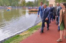 В Казани открылся обновленный парк им.Урицкого