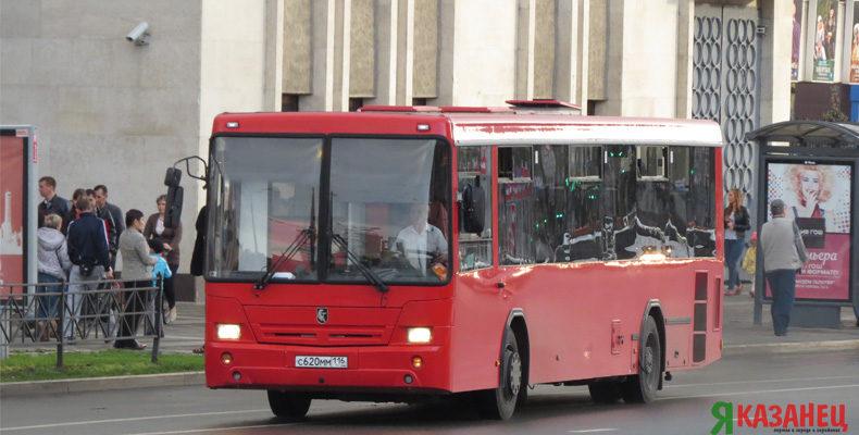 В новогоднюю ночь общественный транспорт в Казани будет работать до 2 ночи