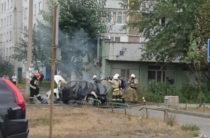 Соцсети: На Адоратского сгорела «Лада Калина»