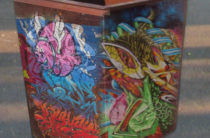 Граффити-художники разукрасят мусорные контейнеры