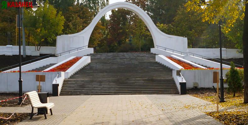 Черное озеро казань