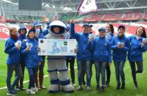 Сотрудники «Казань Арены» поддержали казанские символы на новых банкнотах