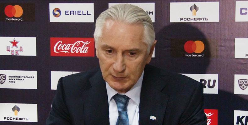 Билялетдинов: Команда сыграла достойно