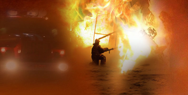 В крупном торговом центре Владивостока пожар (Видео)