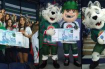 Болельщиков на матче «Ак Барс» — «Витязь» призвали голосовать за Казань