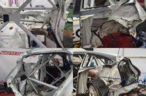 Автогонщик из Казани попал в аварию на этапе  Чемпионата мира во Франции