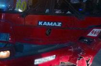 Пьяный водитель иномарки врезался в пассажирский автобус