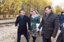 Ильсур Метшин оценил ход работ в Горкинско-Ометьевском лесу