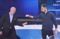 На репетиции жеребьёвки Кубка конфедераций сняли ролик Mannequin Challenge