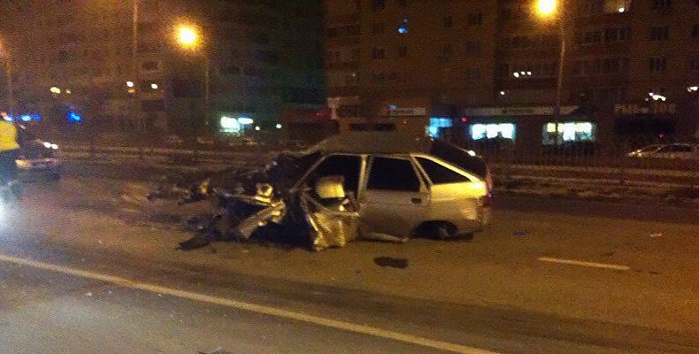 В Челнах взорвался автомобиль