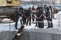 Метшин посетил стройку насосной станции «Заречная»