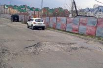 Залатаем! В Казани начался ямочный ремонт дорог
