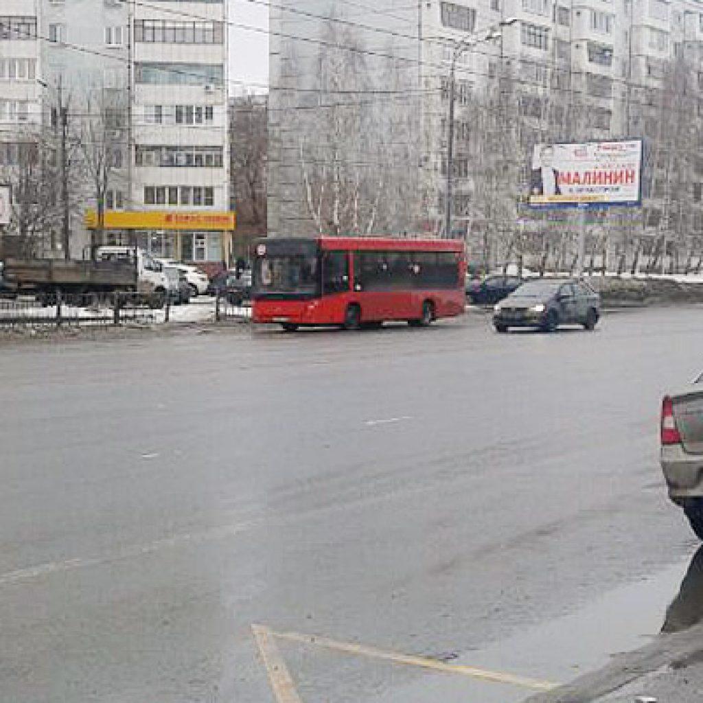 Автобус в Казани