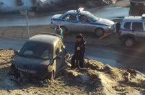 В Уфе пьяный водитель «Приоры» устроил массовое ДТП (Фото)