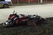 В Альметьевске мотоциклист перевернулся и погиб