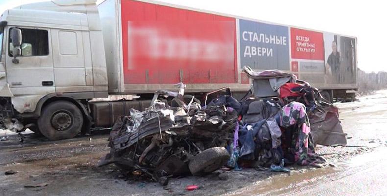 ДТП на трассе в Челябинской области