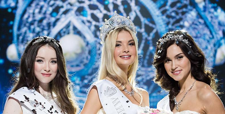 Полина Попова «Мисс России-2017»