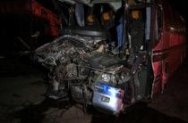Под Рязанью столкнулись автобус и фура, два человека погибли еще 31 пострадали