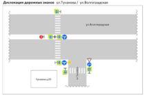 В Казани на перекрестке Волгоградская – Тунакова отменены левые повороты