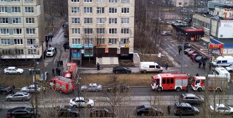 бомба в жилом доме в санкт-петербурге