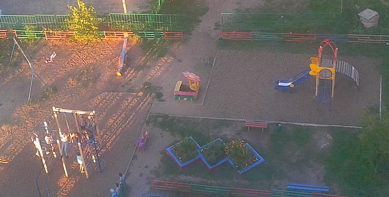 детская площадка Казань