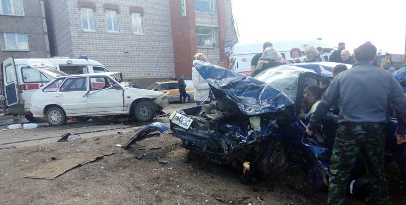 32-летний шофёр скончался в клинике Сарапула от приобретенных вДТП травм