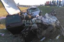Страшная авария в Татарстане: Погибли 5 человек, среди которых дети