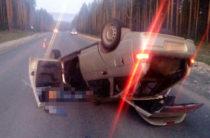 В Башкирии автоледи без прав погибла, перевернувшись на автомобиле
