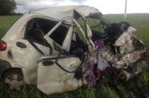 В Башкирии три человека погибли в столкновении «Дэу» и «Шевроле»