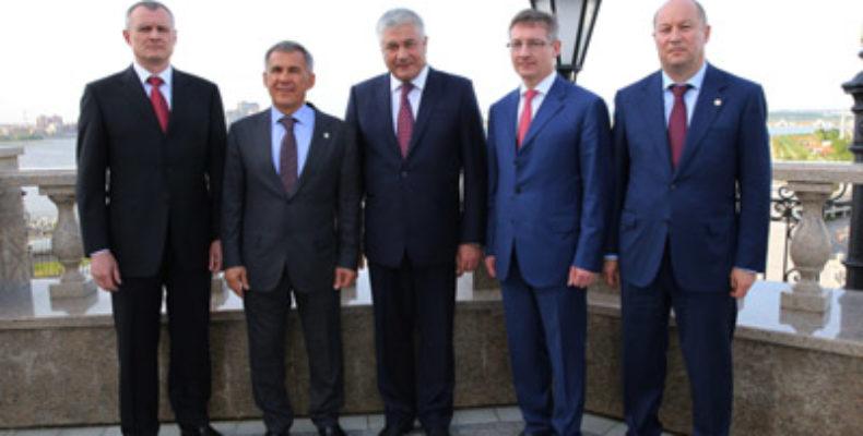В Казань прибыл министр внутренних дел России Владимир Колокольцев