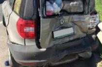 В Самарской области столкнулись две фары и две легковушки, есть пострадавшие