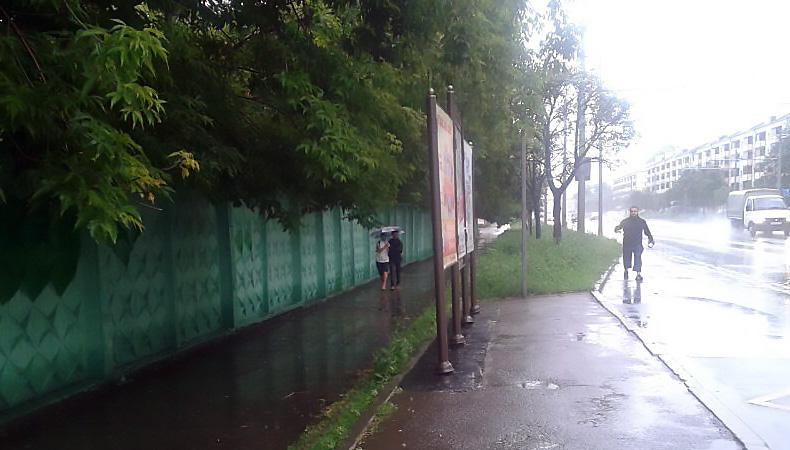 В субботу в Казани прогнозируют грозу и сильный ветер