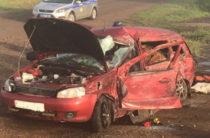 В Башкортостане при столкновении грузовика и легковушки погиб ребенок