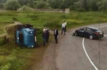 В Башкирии при столкновении легковушки и грузовика пострадал 4-летний ребенок