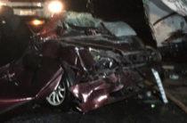 В Ульяновской области грузовик протаранил шесть автомобилей, есть погибший