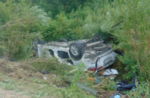В Приморском крае столкнулись «Тойота» и «Урал», погибла семья из трех человек