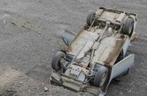 В Башкирии водитель ВАЗа погиб сорвавшись с обрыва