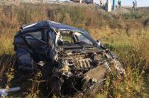 В Башкирии фура смяла ВАЗ, погибли два человека