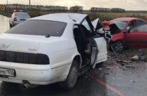 В Башкирии при столкновении «Тойоты» и «Киа» погибли три человека, еще трое в больнице
