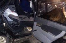 В Башкирии при столкновении Ниссана и «Лады» погибла женщина, еще три человека пострадали