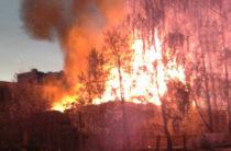 В Иркутской области при пожаре погибли четверо маленьких детей