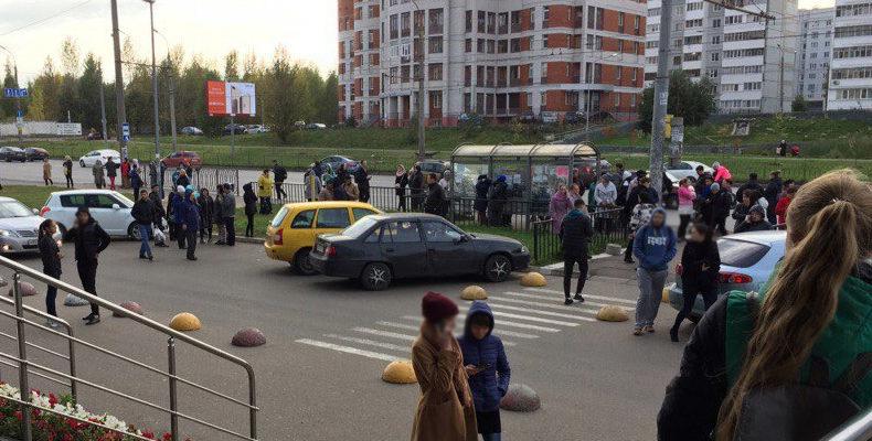 В Казани вновь массовая эвакуация объектов