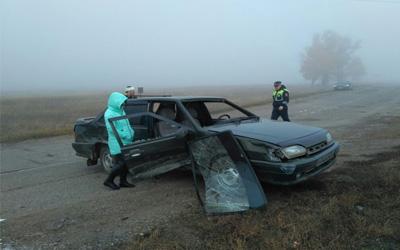 ВБашкирии легковой автомобиль въехал вгруппу школьников