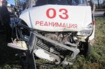 В Тольятти водитель на Audi врезался в «скорую» и в Mercedes
