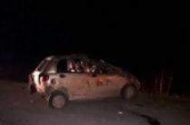 Два человека погибли при опрокидывании иномарки в Башкортостане
